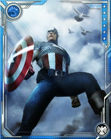 Captain America is highly intelligent and is a world class tactician and strategist due to his vast military experience.