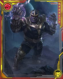 The purple skin that he developed did more than set him apart from his race as being a mutant. His skin absorbs cosmic power which he can then manipulate into kinetic energy. Being an Eternal means he was destined to be powerful. Being born a mutant means that he was not only an outcast from his people, but also more powerful than any before him.