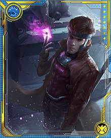 Gambit was wracked with guilt about Sinister's plans to use the new mutant baby to heal Rogue. When he learned that Mystique had killed Sinister and assumed his form, Gambit realized he was free of his debt—and he saved the child.
