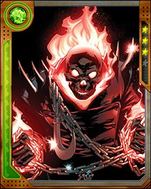 Ridden by the Spirit of Vengeance, Ghost Rider hunts evil and corruption without pity. When he finds it, he destroys it, without fear or second thoughts...though the human he once was can be haunted by the experience.