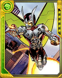 Other identities of the Beetle include Abner Jenkins, Leila Davis, and Janice Lincoln. The suit itself has been constantly upgraded, but what they all have in common is flight and a surprising array of weaponry.