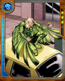 Vulture took a short at reforming, with the help of Kraven the Hunter's son Alyosha—but it didn't last. Before long he was back to his villainous ways, joining a new Sinister Six. Alyosha Kraven later turned on Vulture and imprisoned him in a museum of super humans identified with animals.