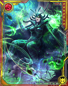 Hela's full powers are rarely needed to defeat her opponents. When she does bring them to bear, along with the Nightsword and her armies of the dead, she is able to threaten even the gods of Asgard with death itself.