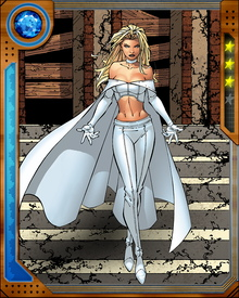 Emma was formerly White Queen of the Hellfire Club, and still exerts some influence within the Club. How much, and over whom, is something of a mystery. Her greatest gift, beyond even her diamond form and powerful telepathy, might be her understanding of how to manipulate and manage people.