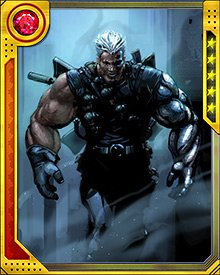 While Cable has extensive mutant abilities that allow him to dominate in almost any situation he meets, his training with the Askani has led him to rely on methods other than his mutant talents when needed.