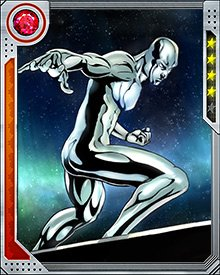 The Silver Surfer broke away from Galactus, rejecting his role as Herald after Galactus battled the heroes of Asgard. Galactus then linked the Silver Surfer's powers to the Earthbound location of Asgard in Broxton, Oklahoma. Although the Silver Surfer was able to assume his normal form as Norrin Radd, his powers diminished the farther he got from Broxton.