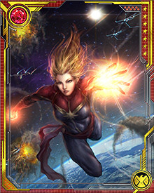 During a mission with the X-Men, Carol was captured by the Brood, an alien race who were interested in her unique human/Kree genetic structure. Through their experiments, the full potential of Carol's unique genetics was unleashed, and she gained cosmic powers.