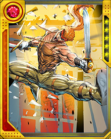 One of Shatterstar's signature powers is the ability to create X-shaped teleportation portals using his swords. Maintaining them takes enormous concentration; if that concentration is interrupted, whoever or whatever is traversing the portals at that moment will end up in several different places at once.