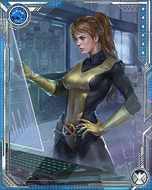When Jean Grey was on trial by the Shi'ar, Kitty Pryde and the Guardians of the Galaxy got involved. They freed Jean, and Kitty began a flirtation with Peter Quill while a new war with the Brood threatened. Kitty had already been infested by the Brood, and they targeted her again.