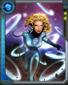 Sue Storm would later marry her teammate Reed Richards, effectively making the Fantastic Four a super hero family.  She is second in command of the Fantastic Four.